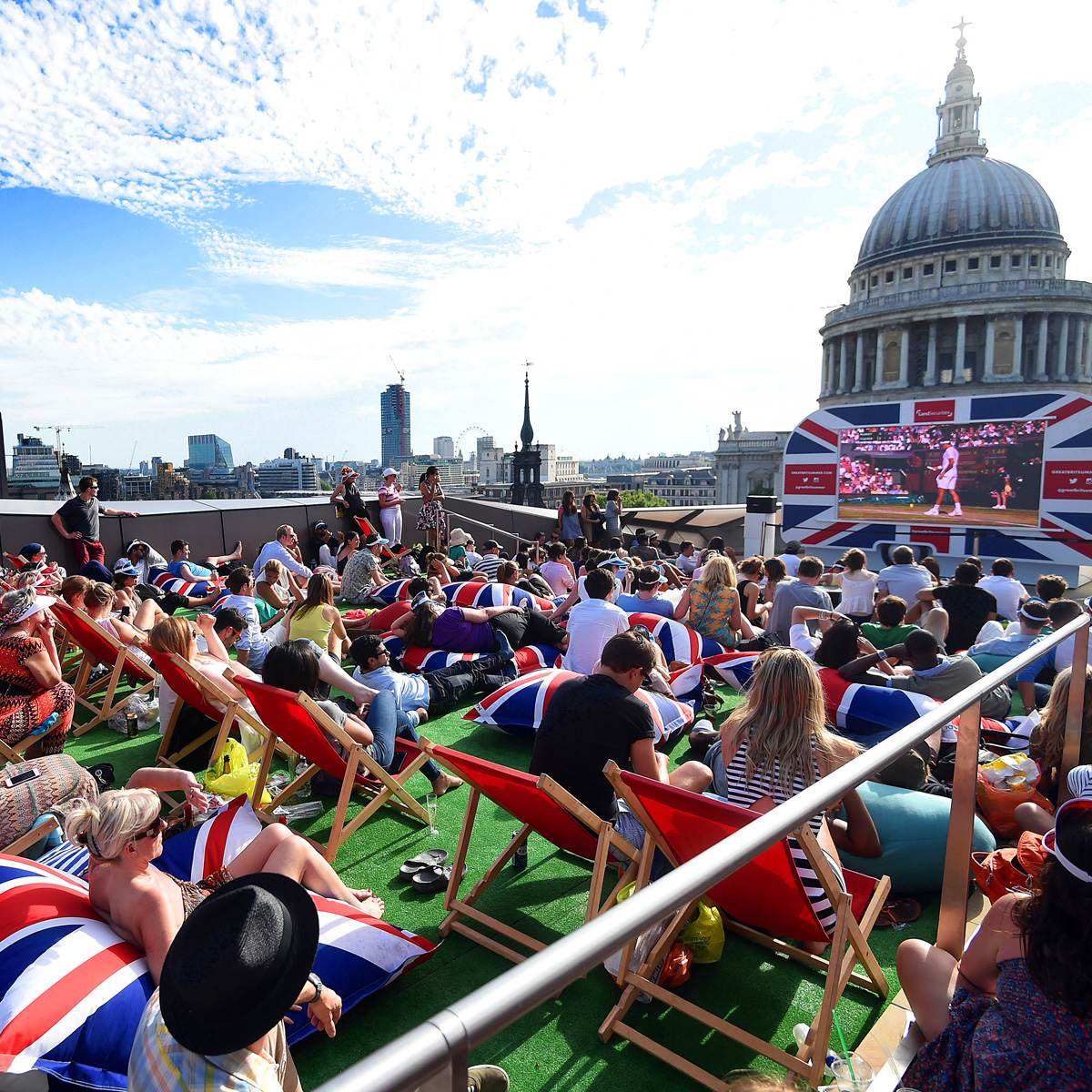 Great British Summer on the Roof Terrace