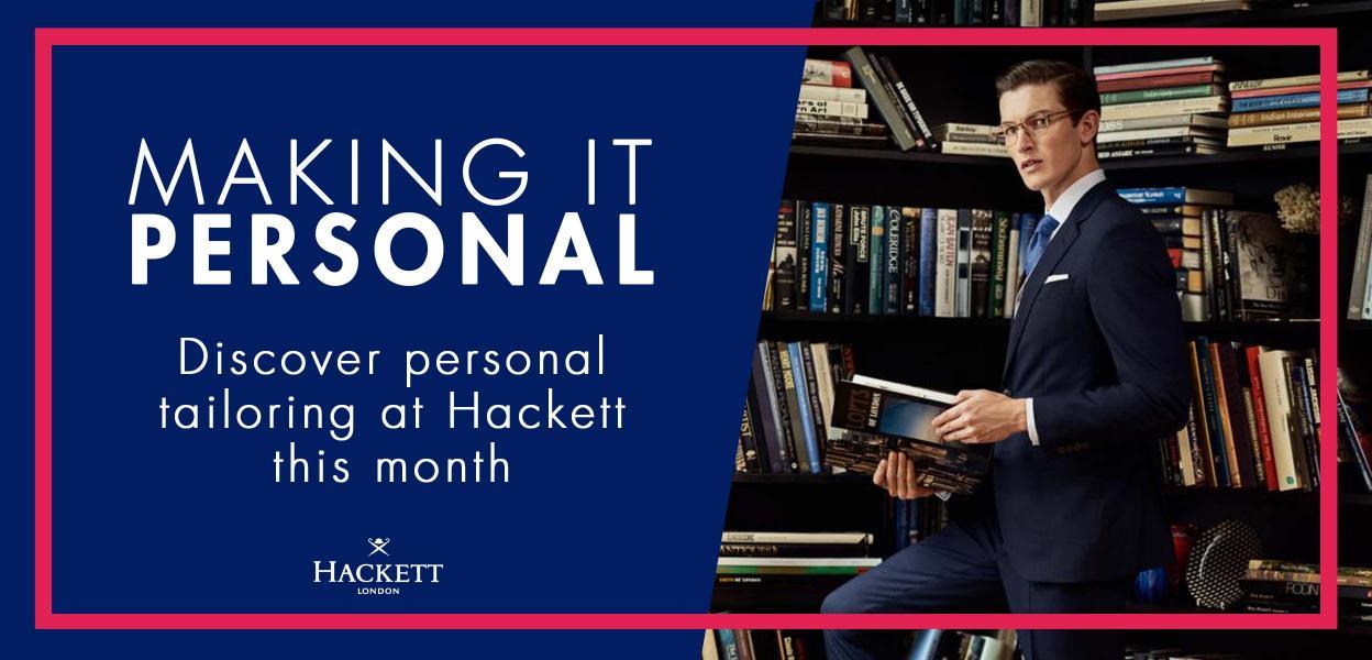 Hacket personal tailoring