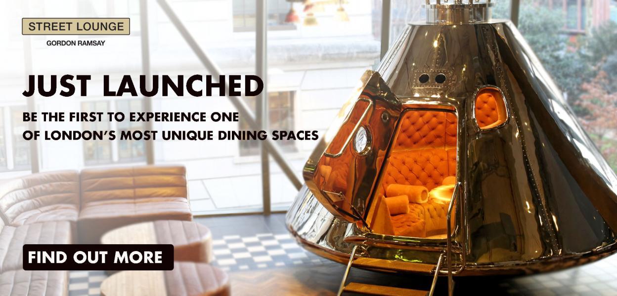 One New Change | Bread Street Kitchen | Street Lounge