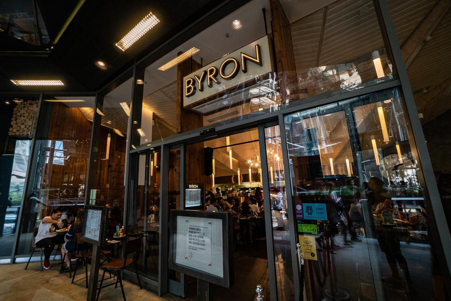 Byron at One New Change