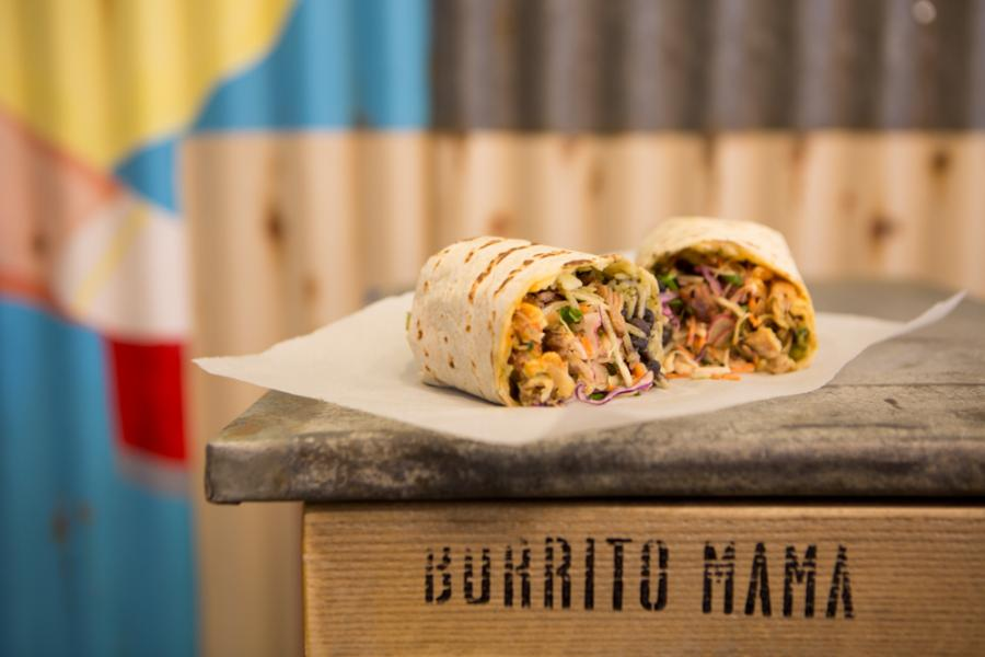 Burritos at Burrito Mama