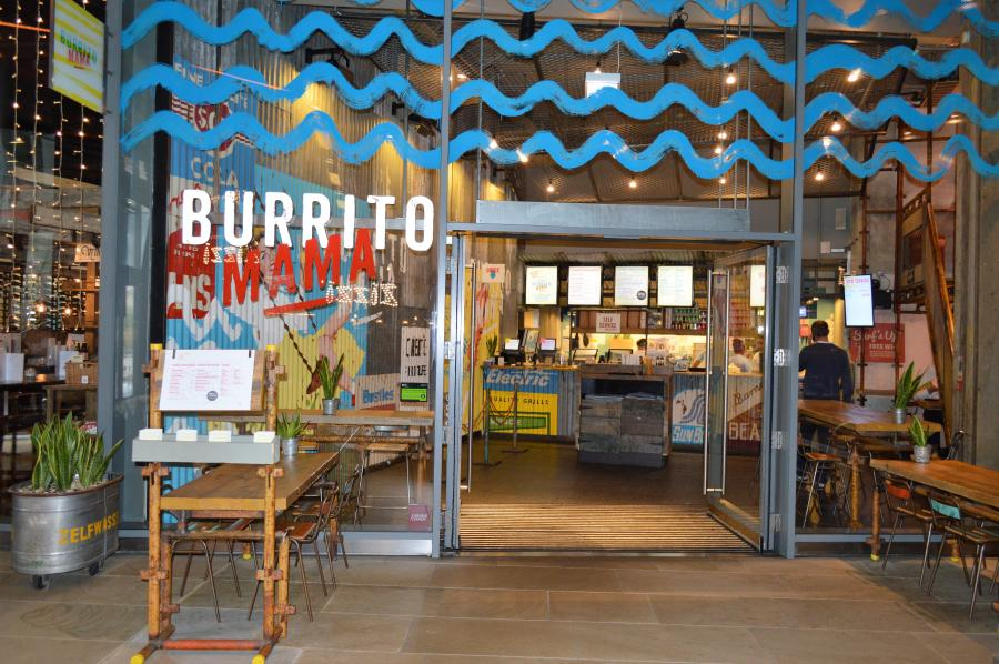 Burrito Mama at One New Change