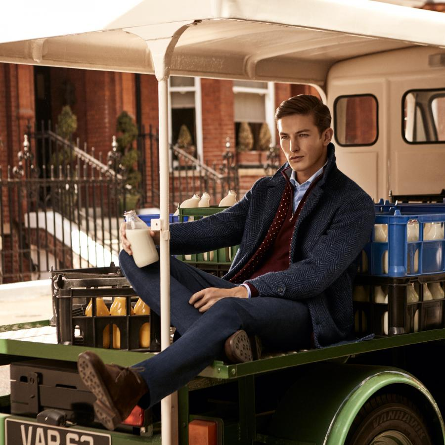 Hackett menswear at One New Change