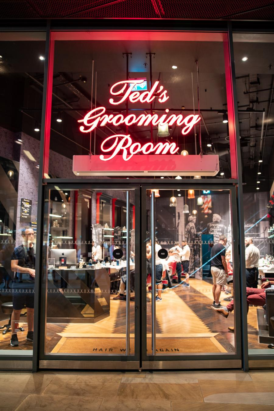 Ted's Grooming Room at One New Change