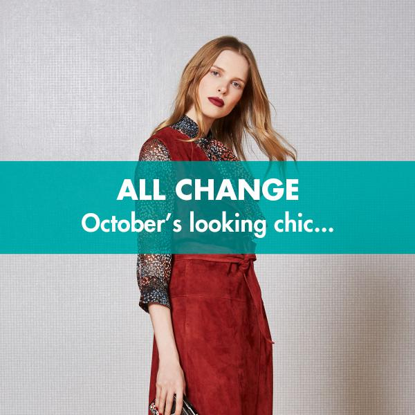 Transitional fashion - all change