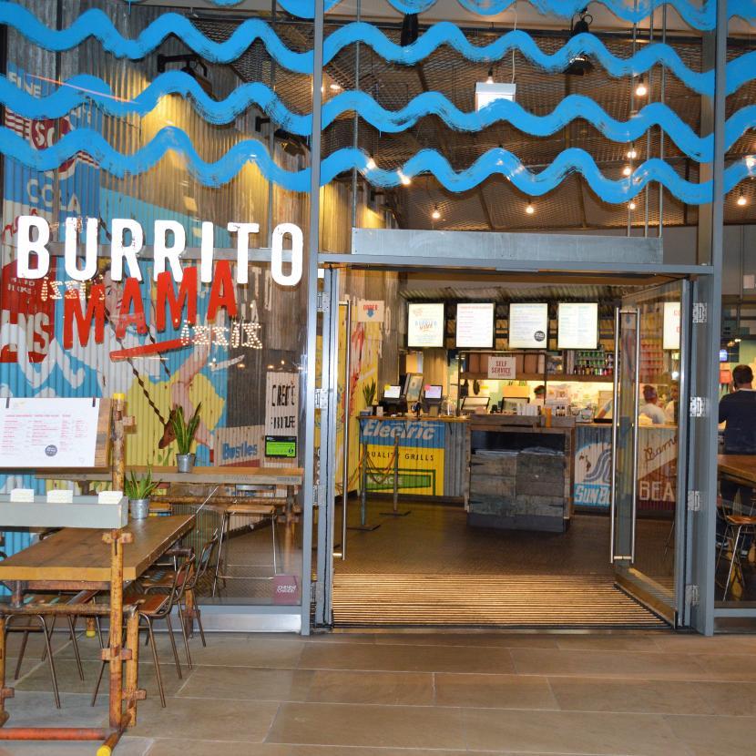 Burrito Mama at One New Change