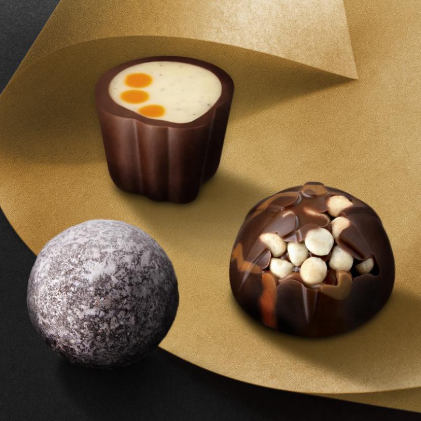 Chocolates at Hotel Chocolat