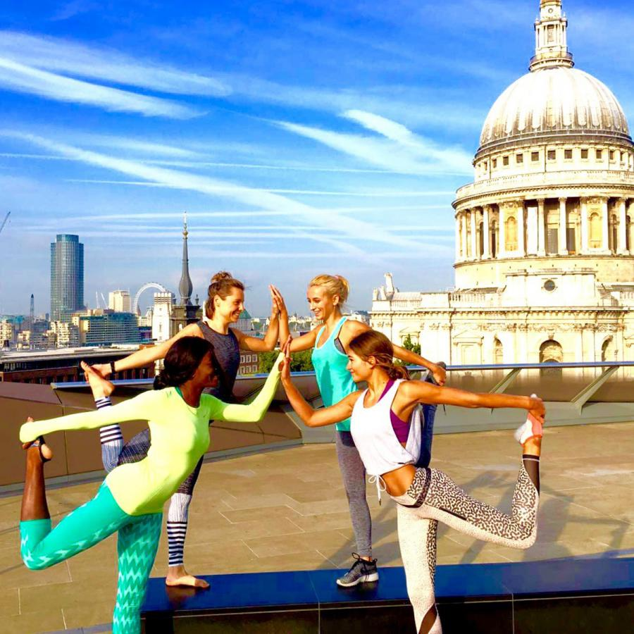 Yoga on the Roof Terrace