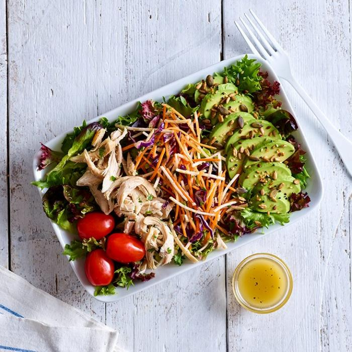 chicken and avocado salad at Eat One New Change