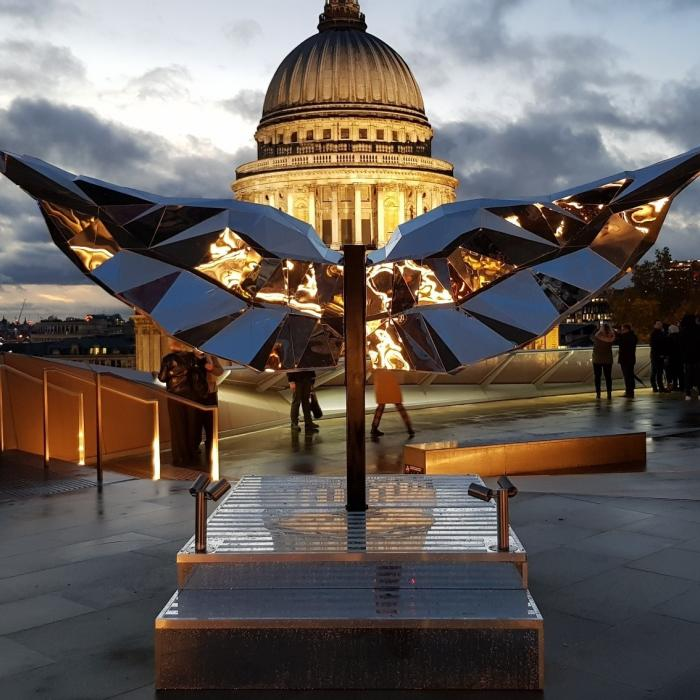 Christmas Wings | One New Change | St Pauls