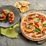 Pizza and Bruschetta at Zizzi One New Change