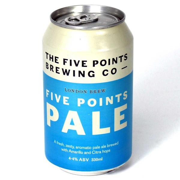 BSK Five Points Pale Ale beers in the city